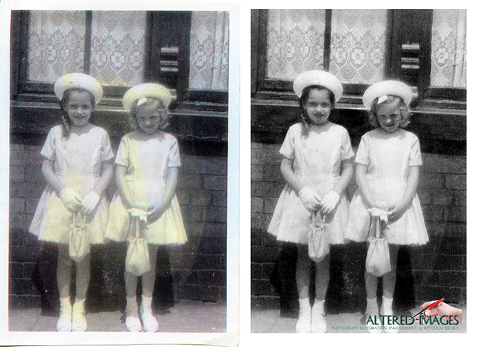 whit sunday photograph restoration