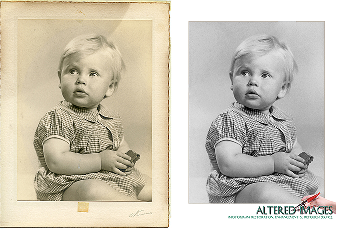Photograph Enhancement by Altered Images